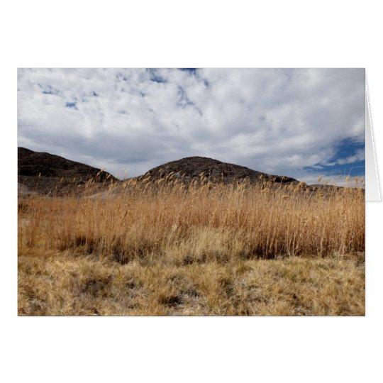 Grain in the Desert,  Blank Inside Card
