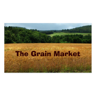 Grain Market Business Card Templates