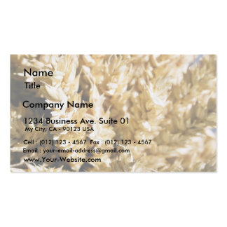 Grain Plant Seed Business Card Template