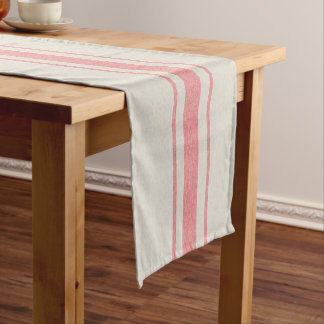 grain sack table runner