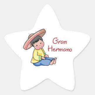 Gram Hermano Star Stickers