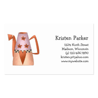 Gram s Garden · Red Water Can Business Cards