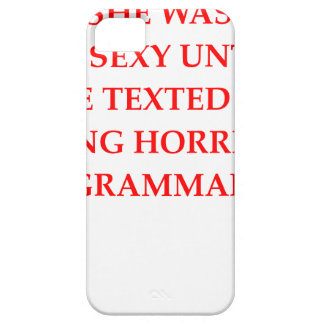 GRAMMAR iPhone 5 COVERS