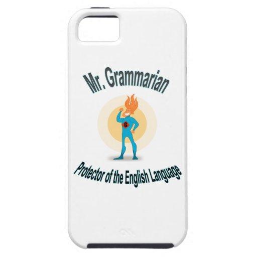 Grammar Fanatic Superhero iPhone 5/5S Cover