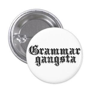 Grammar Gangsta 3 Cm Round Badge