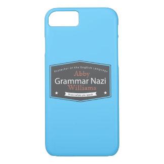 Grammar Nazi Add Your Name Case