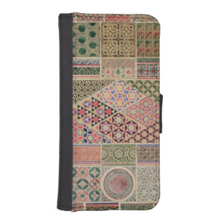 'Grammar of Ornament', chapter VII, plate XXX: Byz iPhone SE/5/5s Wallet Case