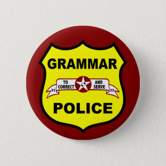 Grammar Police Button