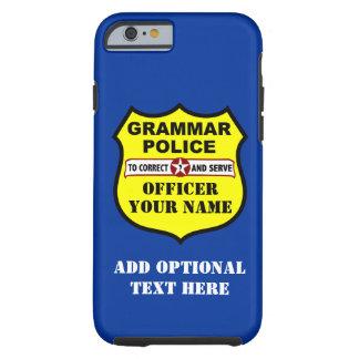 Grammar Police Customizable iPhone 6 case