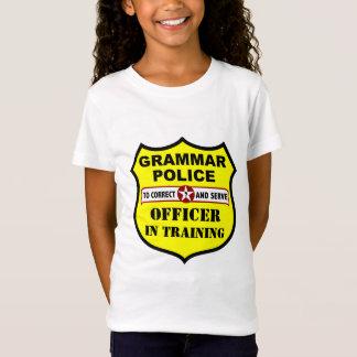 Grammar Police Customizable KIds Tee