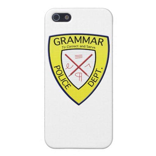 Grammar Police Department iPhone case iPhone 5/5S Cases