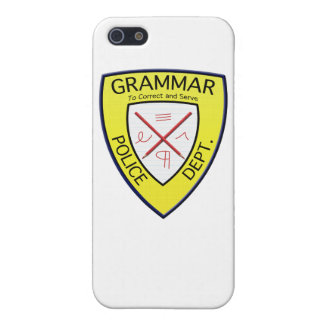 Grammar Police Department iPhone case iPhone 5/5S Covers