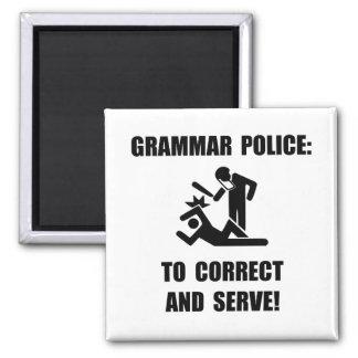 Grammar Police Magnet