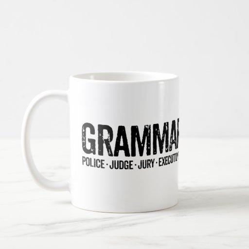 Grammar Police Mug Funny Coffee Mugs Teachers