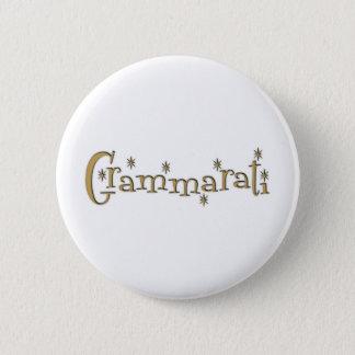 Grammaratti 6 Cm Round Badge
