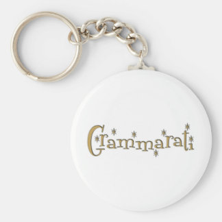 Grammaratti Key Chain