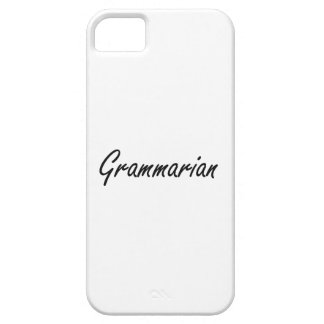 Grammarian Artistic Job Design iPhone 5 Case