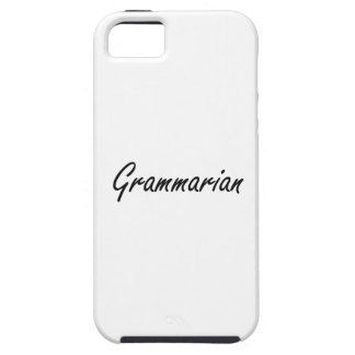 Grammarian Artistic Job Design iPhone 5 Cover
