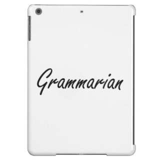Grammarian Artistic Job Design iPad Air Case