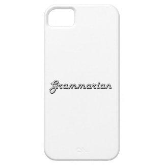 Grammarian Classic Job Design iPhone 5 Covers