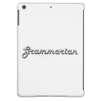 Grammarian Classic Job Design Cover For iPad Air