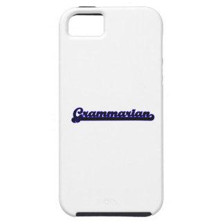 Grammarian Classic Job Design iPhone 5 Cover
