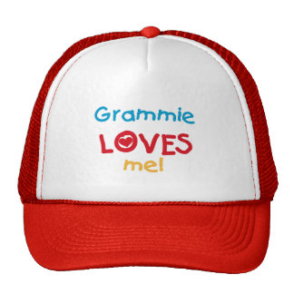 Grammie Loves Me T-shirts and Gifts Trucker Hat