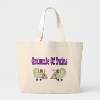 Grammie of TWINS Tote Bag