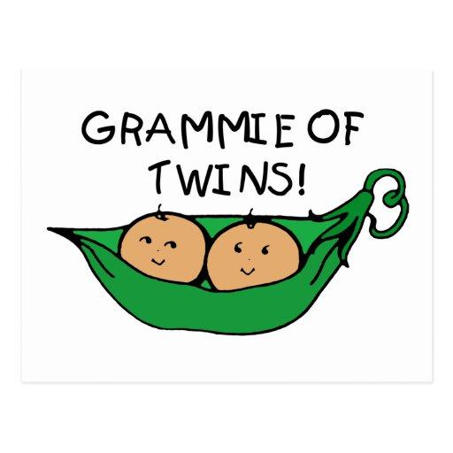 Grammie of Twins Pod Postcards