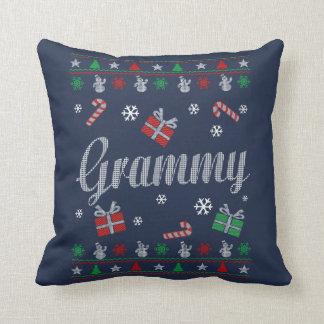 Grammy Christmas Cushion
