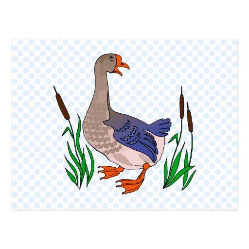 Grammy Goose Postcard