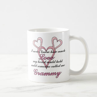 Grammy (I Never Knew) Mother's Day Mug