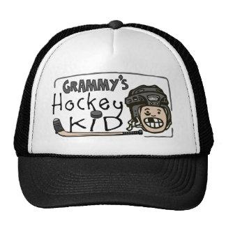 Grammy s Hockey Kid Hats