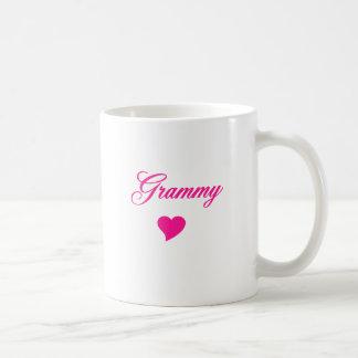 Grammy With Heart Basic White Mug
