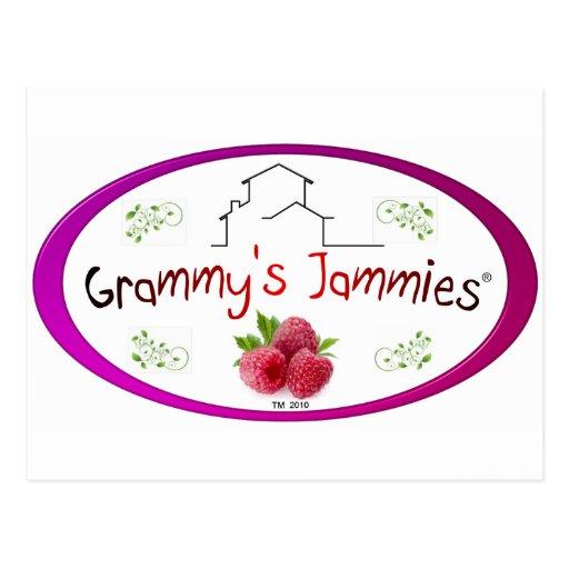 Grammy's Jammies Postcard