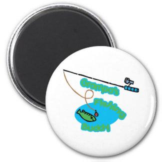 Grampa apos s Fishing Buddy Fridge Magnets
