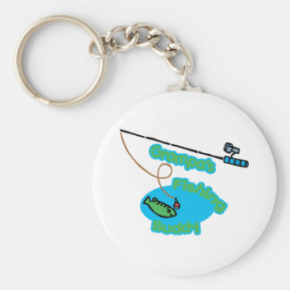 Grampa apos s Fishing Buddy Keychain
