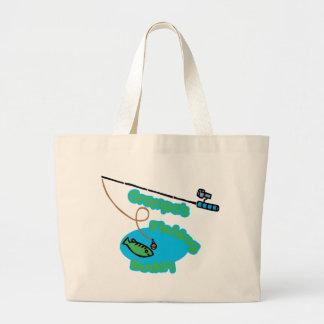 Grampa s Fishing Buddy Tote Bag