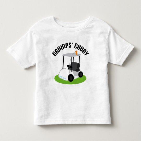 Gramps Caddy (Golf) Toddler T-Shirt