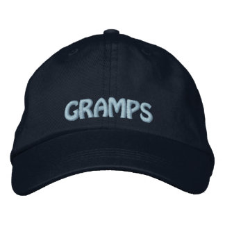 Gramps Embroidered Grandpa Hat Baseball Cap