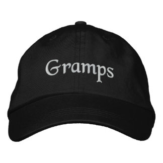 Gramps Embroidered Hat