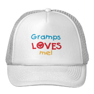 Gramps Loves Me T-shirts and Gifts Mesh Hats