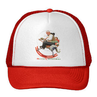 Gramps on Rocking Horse Mesh Hats