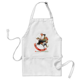 Gramps on Rocking Horse Standard Apron