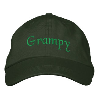 Grampy Embroidered Hats