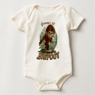 Grampy's Little Bigfoot Baby Bodysuit