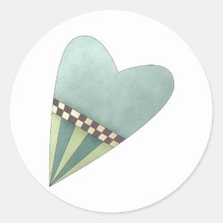 Gram's Garden · Blue Heart Sticker