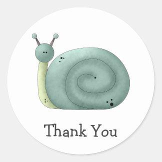 Gram's Garden · Blue Snail Stickers