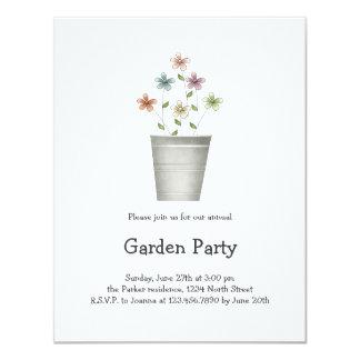 Gram's Garden · Flowers in Bucket Card