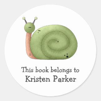 Gram's Garden · Green Snail Sticker